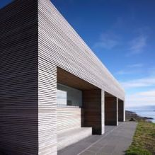 Storey country house with a flat roof in Scotland-4