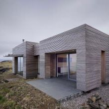 Storey country house with a flat roof in Scotland-5