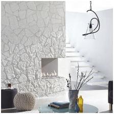 Интериорен дизайн декоративен камък: функции, снимки