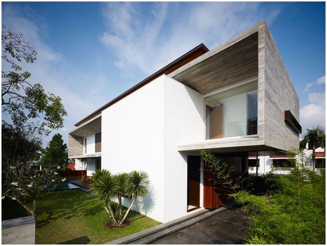 Характеристики на къщи в стил на минимализъм