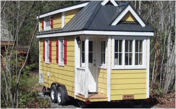 Къмпинг в комфорт: къщи на колела, вариращи от 16 до 24 квадратни метра. м