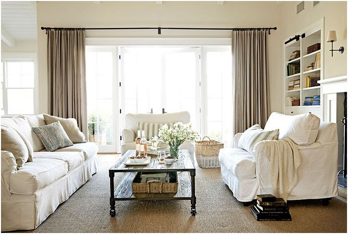 Great Ideas For Decorating The Living Room 30 Bright And Interesting Example