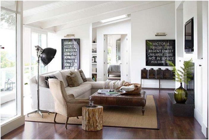 Големите идеи за декорация на хола: 30 ярки и интересни примери