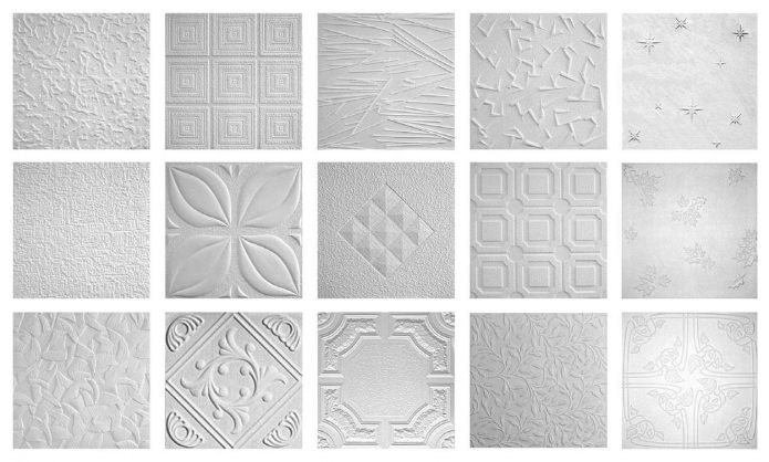 options foam tiles for the ceiling design