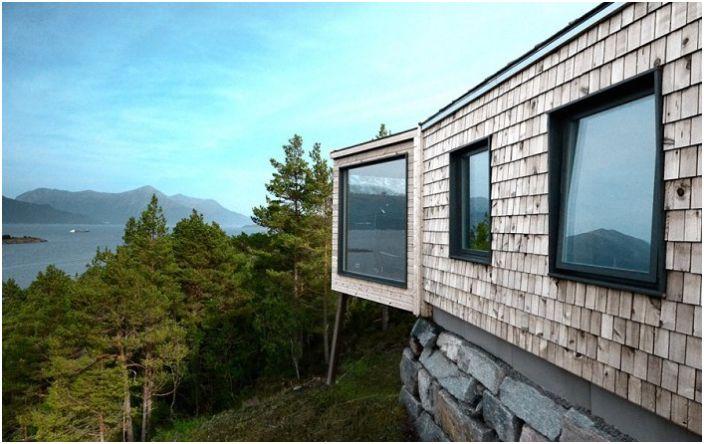 Простотата и естествеността: ваканционен дом в суровата красота на природата недокосната