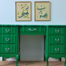 Repair in practice: how to repaint the furniture yourself-8