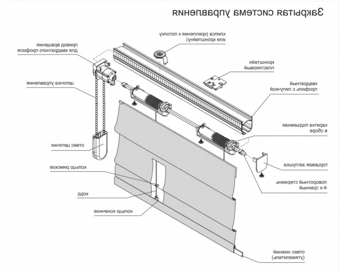 Римски щори в интериора: на опции, дизайн, Фото