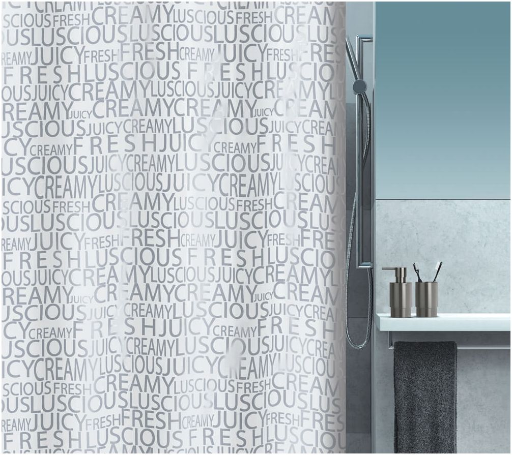 curtain for Spirella bathroom
