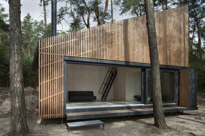Design of a small private house in the woods