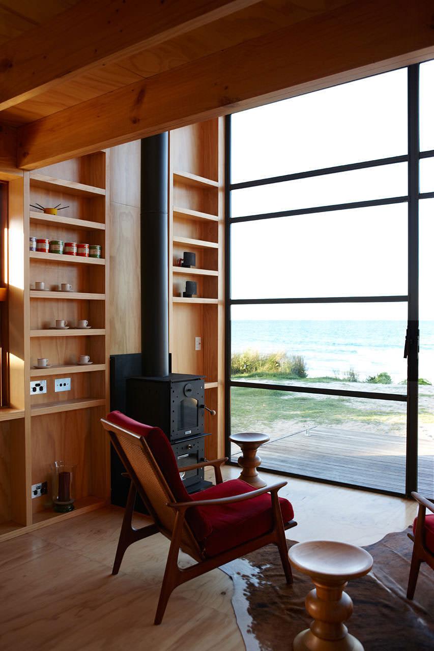 Модерна малка къща в Нова Зеландия