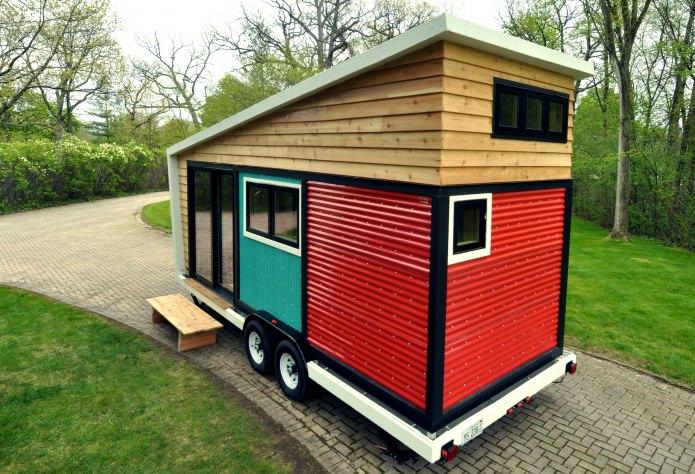 Съвременните мини-къща на колела