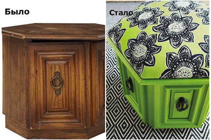"""Стари мебели """"преди"""" и """"след"""" промяна: невероятни и вдъхновяващи примери"""