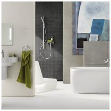 Minimalist style in the bathroom: features photo-4