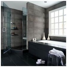Minimalist style in the bathroom: features photo-6