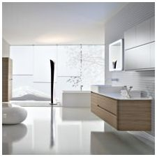 Minimalist style in the bathroom: features photo-7