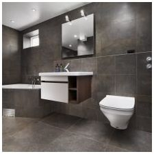 Minimalist style in the bathroom: features photo-5