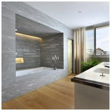 Minimalist style in the bathroom: features photo-8