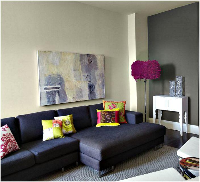 Стилен бар: 20 великолепни подови лампи в интериора на хола