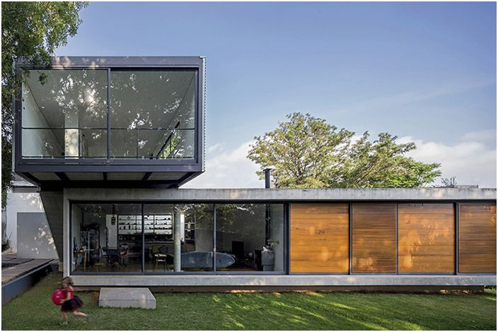 Чуждостта и чар на съвременната архитектура: 18-пъзел къщи