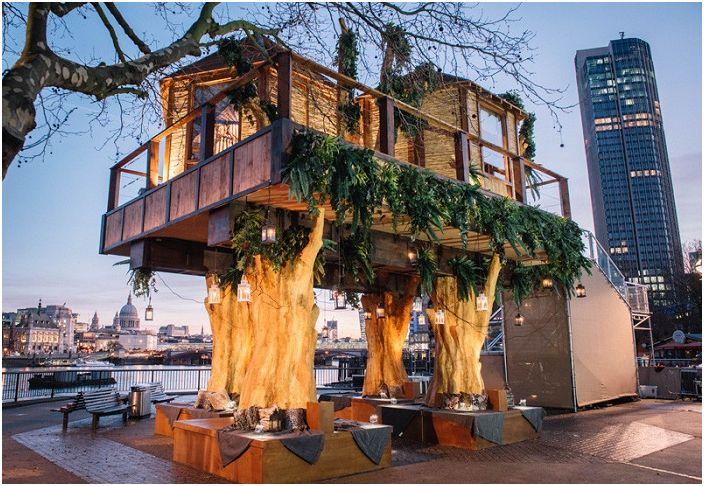 """Тези африкански колиби в средата на градската """"джунгла"""""""
