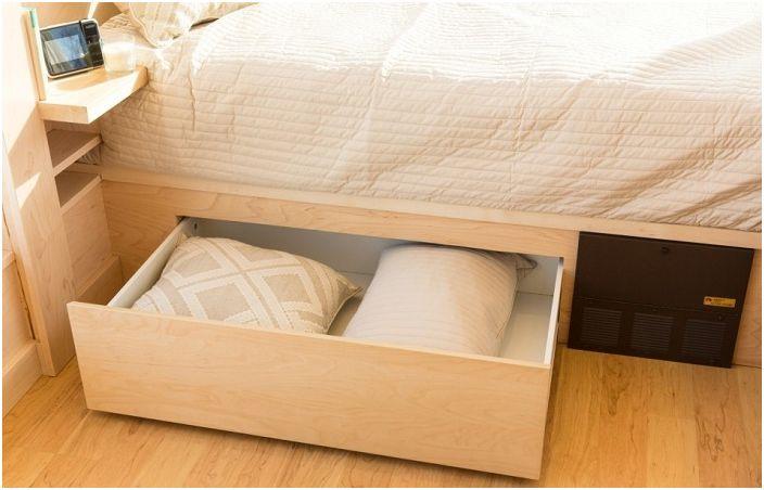 Уютна вила площ от само 14.8 кв. м, които могат да се използват успешно за получаване на
