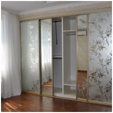Variants of design of facades doors wardrobe 2