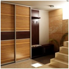 Variants of design of facades doors wardrobe 3