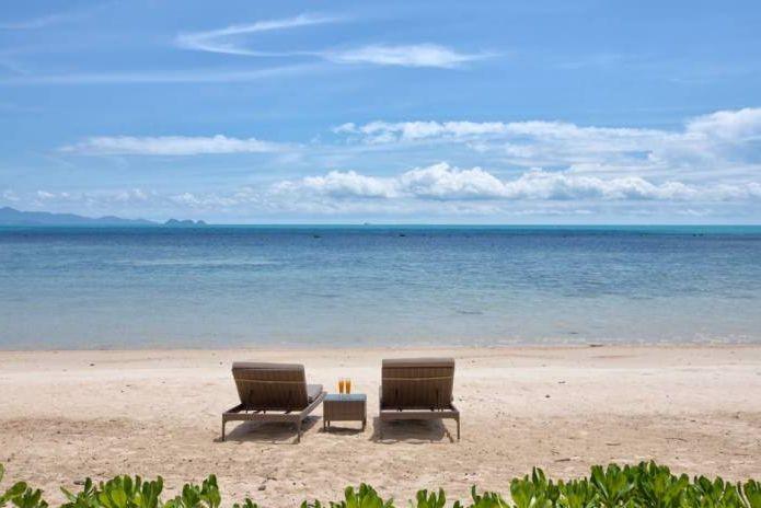 Вила с изглед към морето на остров Кох Самуи