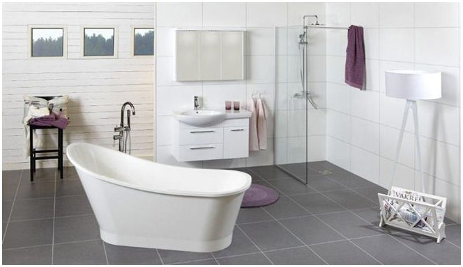 range of acrylic baths