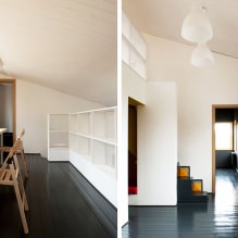 House of 100 square meters. m. in the style of minimalism-32