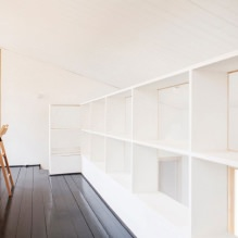 House of 100 square meters. m. in the style of minimalism-34