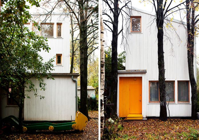 design house on 100 square meters. m.