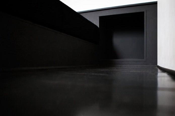 Къща от 100 квадратни метра. м. в стила на минимализма