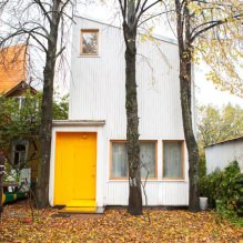 House of 100 square meters. m. in a minimalist-style 1
