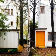 House of 100 square meters. m. in the style of minimalism-4
