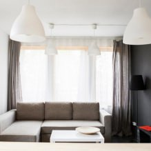 House of 100 square meters. m. in the style of minimalism-5