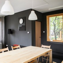 House of 100 square meters. m. in the style of minimalism-6