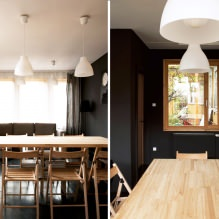House of 100 square meters. m. in the style of minimalism-11