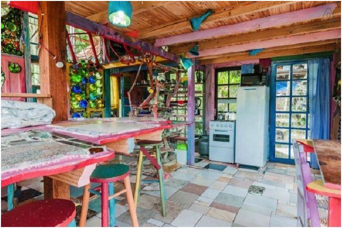 Residencia para hippie real: una casa construida fuera del montón ...