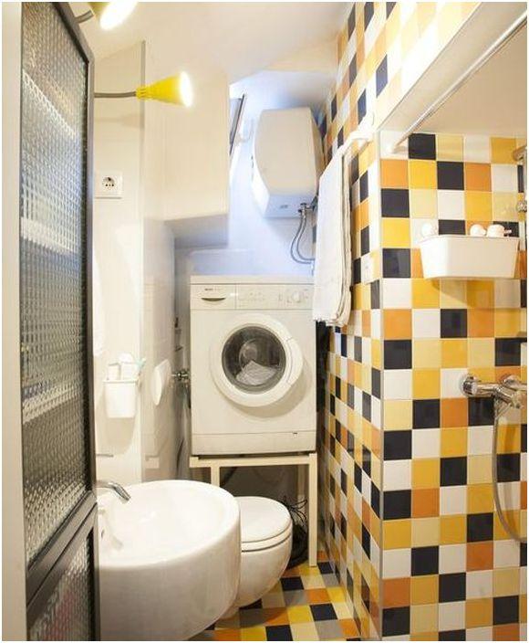 Да живееш на тавана: удобен апартамент с площ от 18 квадратни метра