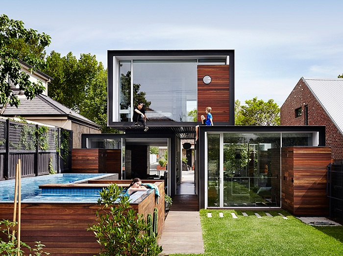 Живот без Secrets: къща с максимално пространство otkrytnym