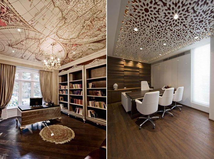 10 креативни идеи за дизайн на тавана