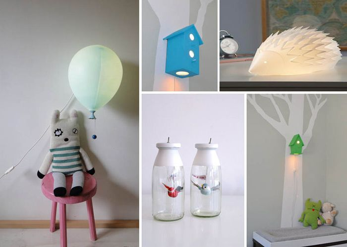 10 night-light for the interior of a child's room.