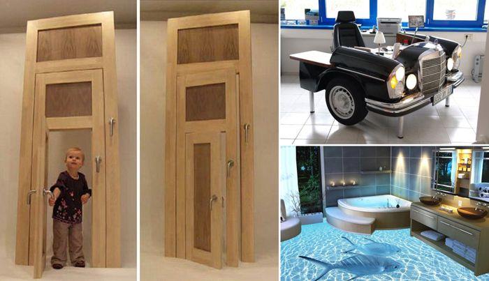 10 невероятни идеи за създаване на един необичаен интериорен дизайн