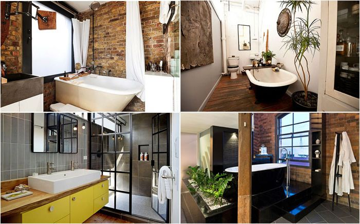 10 stunning bathrooms in the industrial style