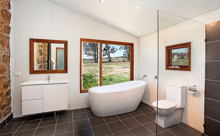 10 зашеметяващи бани в индустриалния стил
