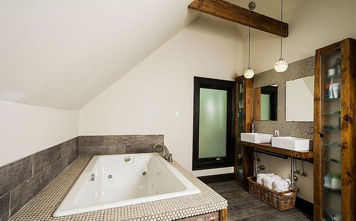 Bathroom of Ginkgo House Architecture