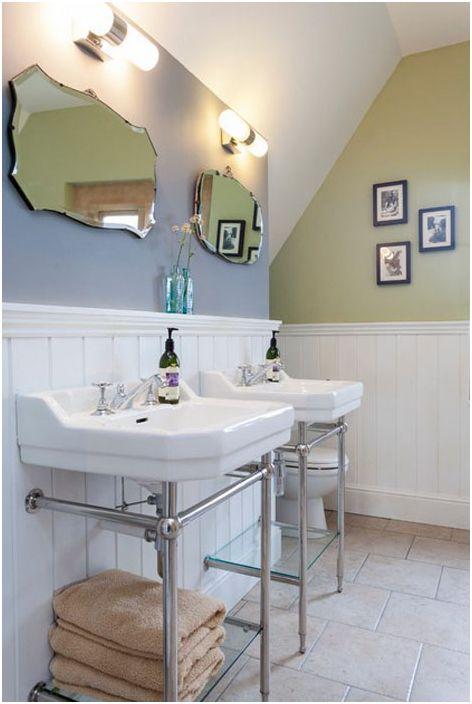 10 начина как можете да трансформирате баня с помощта на огледала