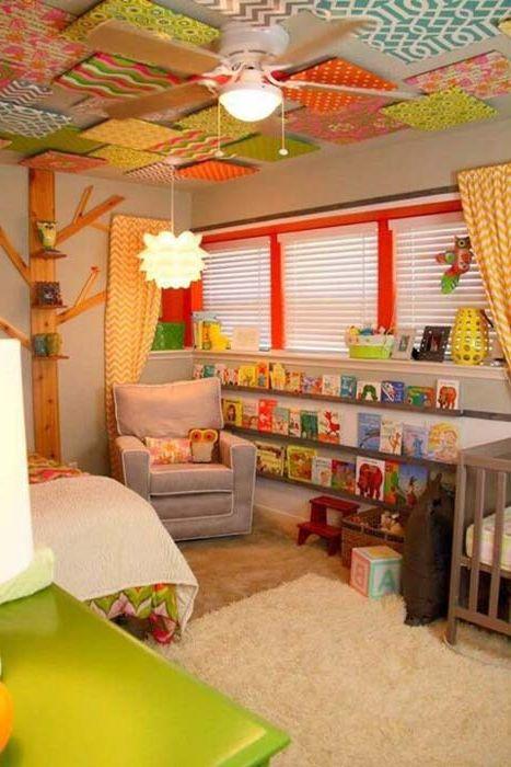 10 страхотни идеи за декорация на тавана в децата