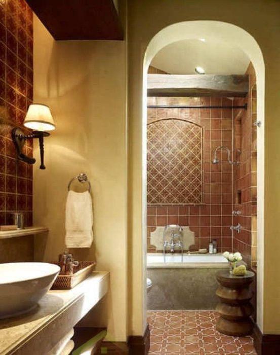 12 elegante bagno in stile mediterraneo for Bagno in stile mediterraneo